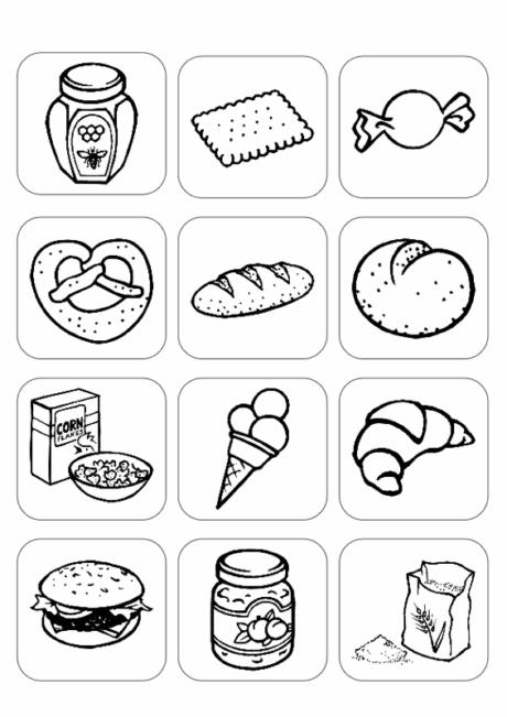 Bilder Stichwort Backwaren und Süßigkeiten