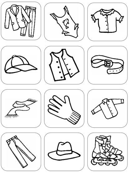 Bildersammlung: Kleidungsstücke