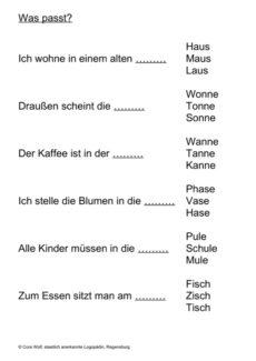 phonematische Übung