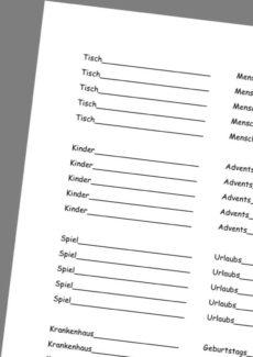 Übungen zur Wortfindung mit Wortanfängen