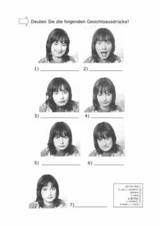 Gesichter deuten