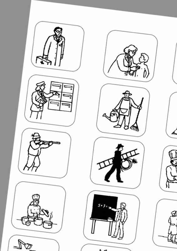 Arbeitsblätter Thema Berufe : Therapiematerial zum thema demenz seite