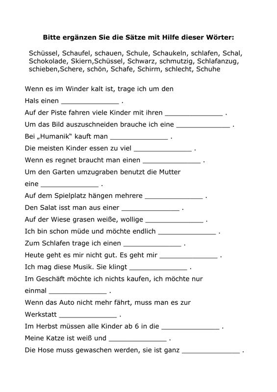 Schön Einfache Ergänzung Arbeitsblatt Für Kindergärten Bilder ...