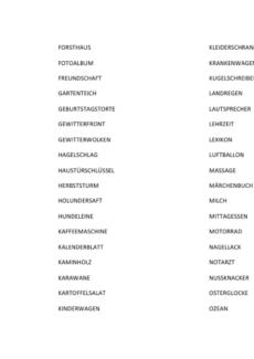Aphasietherapie: Tabu mit mittelschweren Begriffen