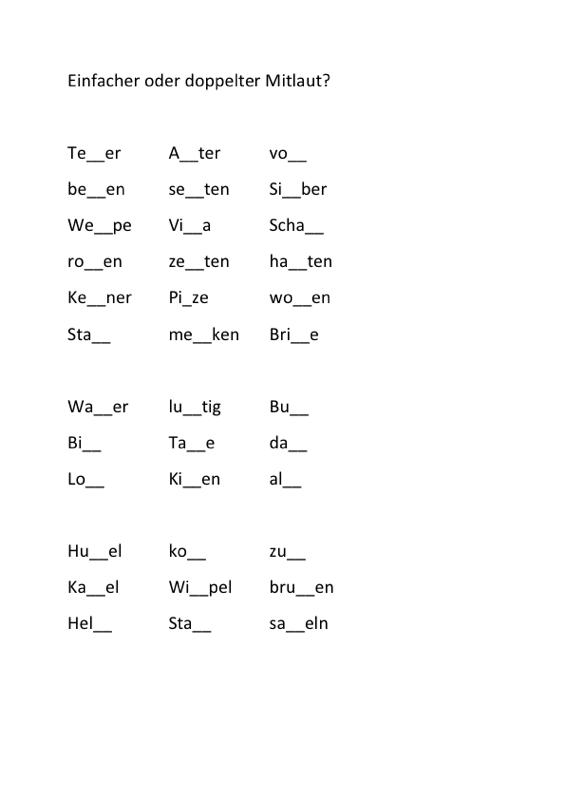 differenzierung doppelkonsonanz lrs madoonet