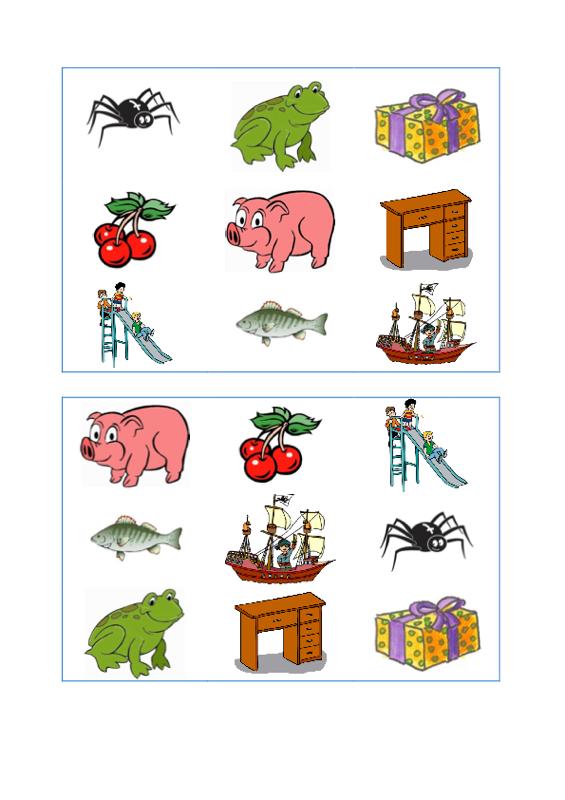Sammlungen mit Gruselino Spielplan und Karten [sch] (2) - Dyslalie ...