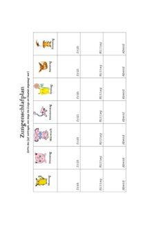MFT: Zungenschlafplan