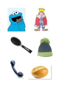 Bilder: gemischte Wörter mit ö und ü