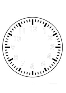 Uhr zum selber basteln