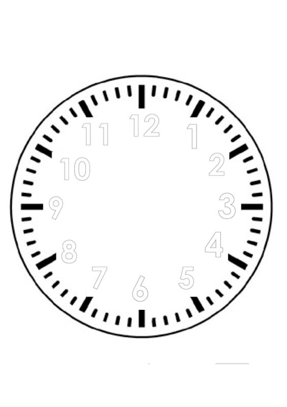 Uhr Zum Selber Basteln Sprache Madoo Net