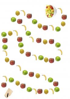Spielplan: Obst