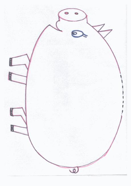 Sparschwein für [sch]