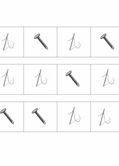 phonematische Differenzierung: Nagel / Nadel