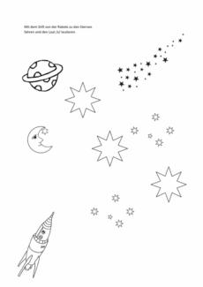 Lautübung [s] mit Rakete