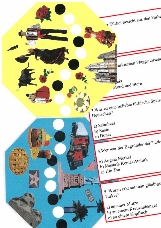 """Aphasie-Spiel """"Länder der Welt"""""""