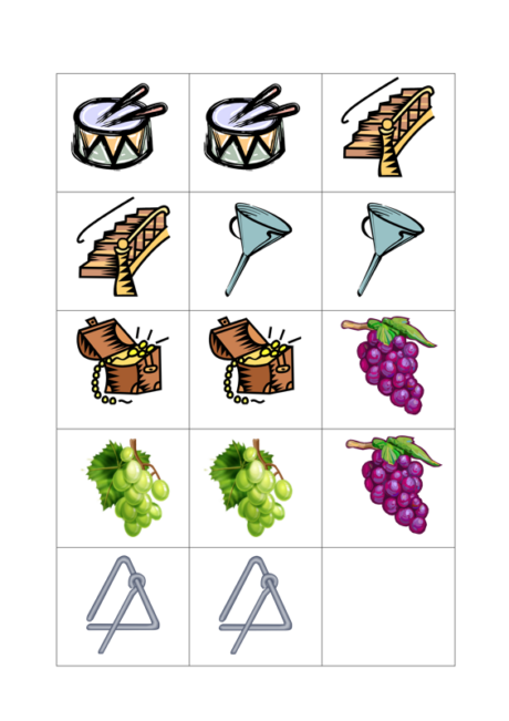 Bildkarten: Konsonantenverbindung