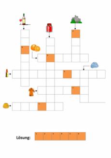 Kreuzworträtsel mit Bildern (2)