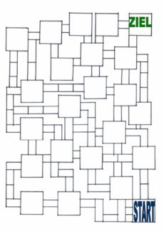 Spielfeld Labyrinth