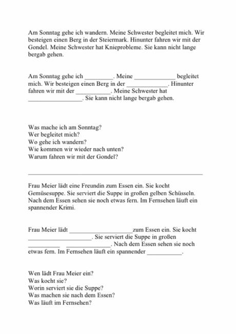 Textverständnis bei Aphasie