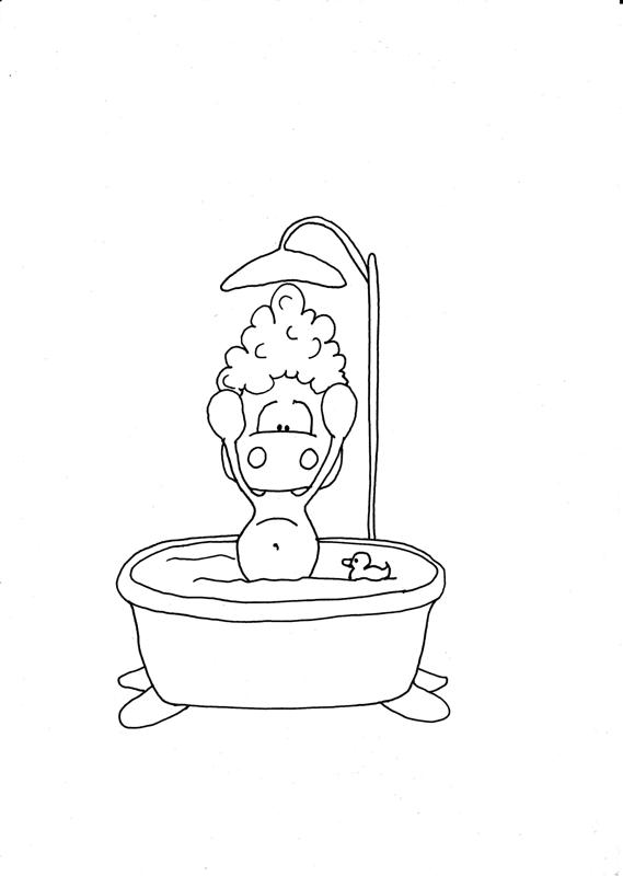 Duschbild mit [sch]