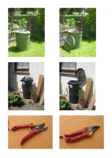 """Bilder zu Präpositionen """"auf"""" und """"zu"""""""