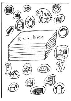 Kindersprache: K wie Kiste