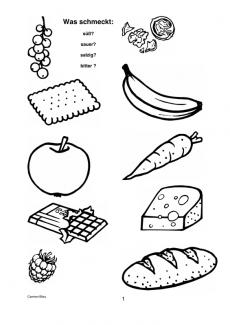 Objektrelationen: Was schmeckt wie?