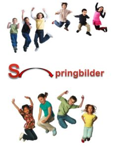 Spiel: Springbilder