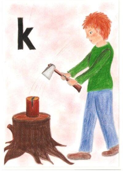 alternative POPT-Karten /k/