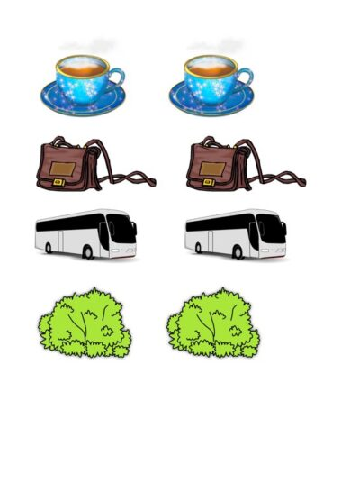 Minimalpaare als Memory für /s/ vs. /sch/