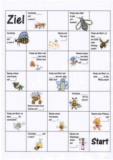 Spiel: Bienchenspiel bei Sigmatismus