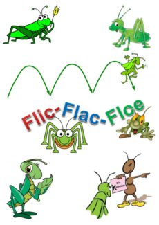 Spiel: Flic-Flac-Floe /k/-Variante