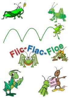 Spiel: Flic-Flac-Floe /sch/-Variante
