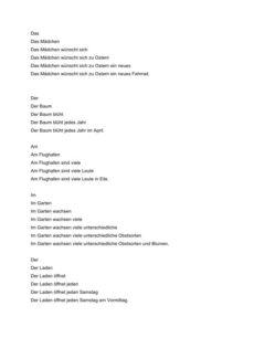 Dysphonie: Staffelsätze (2)