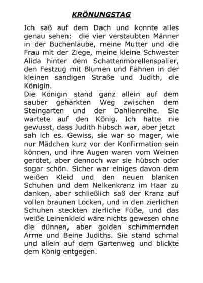 """""""Krönungstag"""" – Klassischer Text zur Stimmdiagnostik"""