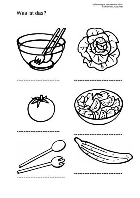 Wortfindung: Kopfsalat & Co
