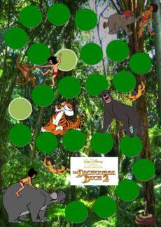 Spielplan: Dschungelbuch