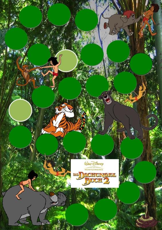 Spielplan Dschungelbuch Kindersprache Madoo Net