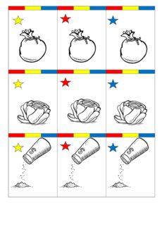 Spiel für Sigmatismus-Kinder: Trio