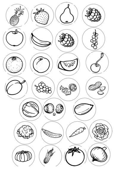 Nanu-Erweiterungssatz: Obst, Gemüse, Nüsse