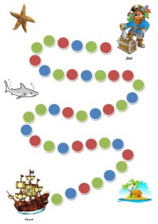 Piraten-Würfelspiel