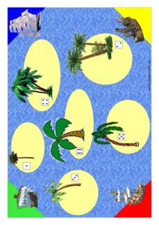 Spiel: Inselhüpfen