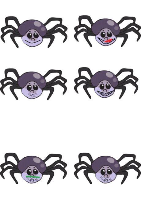 Mundmotorik mit Spinnen