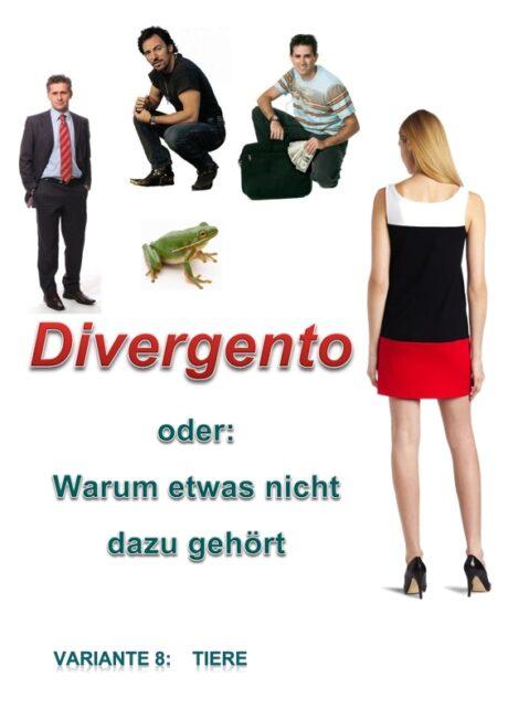Spiel: Divergento Variante 8 (Tiere)