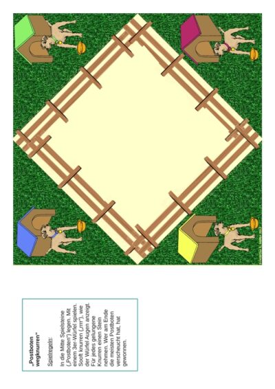 Spiel: Postboten wegknurren