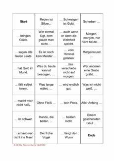 Sprichwörter-Domino für Aphasie-Patienten (1)