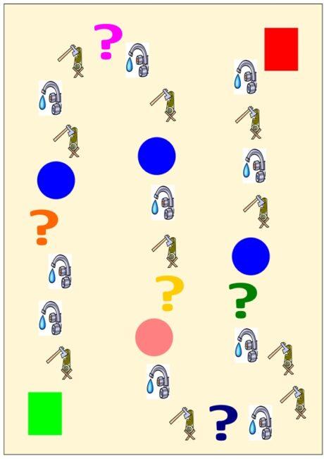 Spiel: Differenzierungspfad t/k