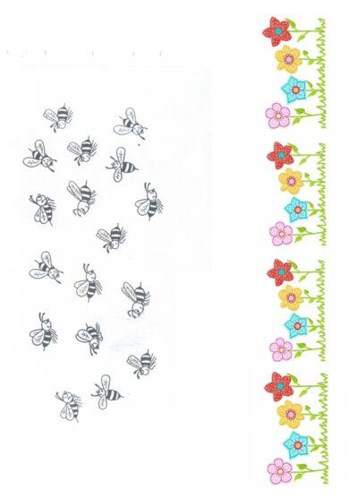 Bienen-Blumen-Spiel