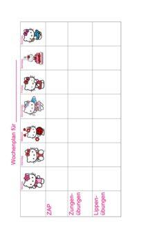 MFT-Wochenplan: Hello Kitty