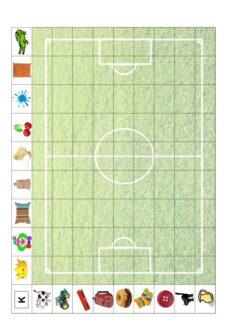 Fußballfeld zur Lautfestigung